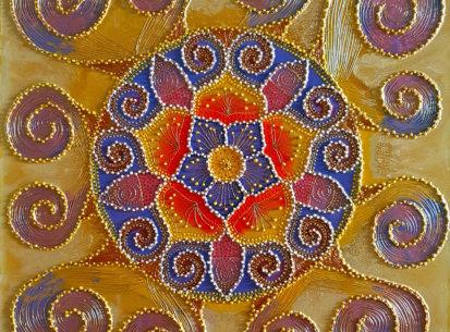 Mandala Ochronna – 60×60