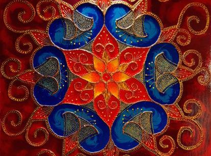 Mandala Szczęścia I