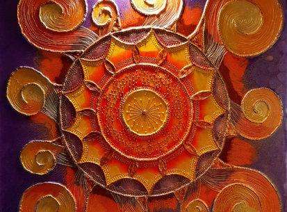 Mandala Szczęścia II