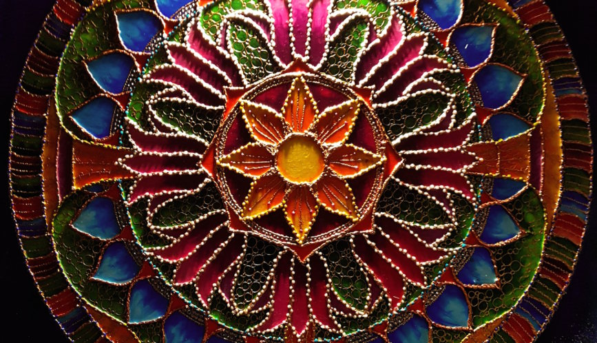 Mandala Szczęścia i Bogactwa