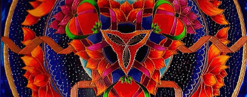 Mandala Miłości, Ochrony i Wewnętrznej Siły