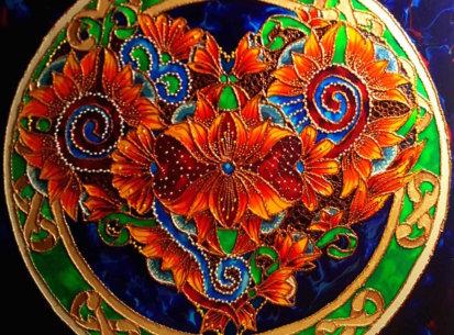 Mandala Miłości – 60×60