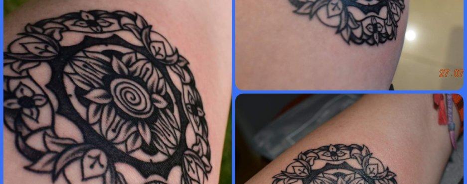 Projekt Tatuażu Ii Kundalini Art Mandale Obrazy