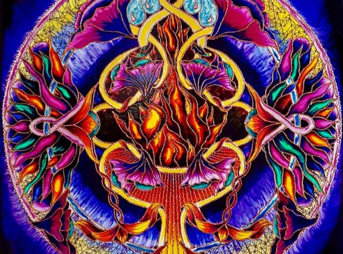 Wewnętrzny Ogień – 100×100
