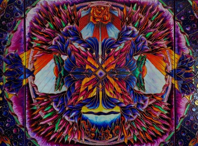 Przebudzenie Kundalini – 180×100 tryptyk