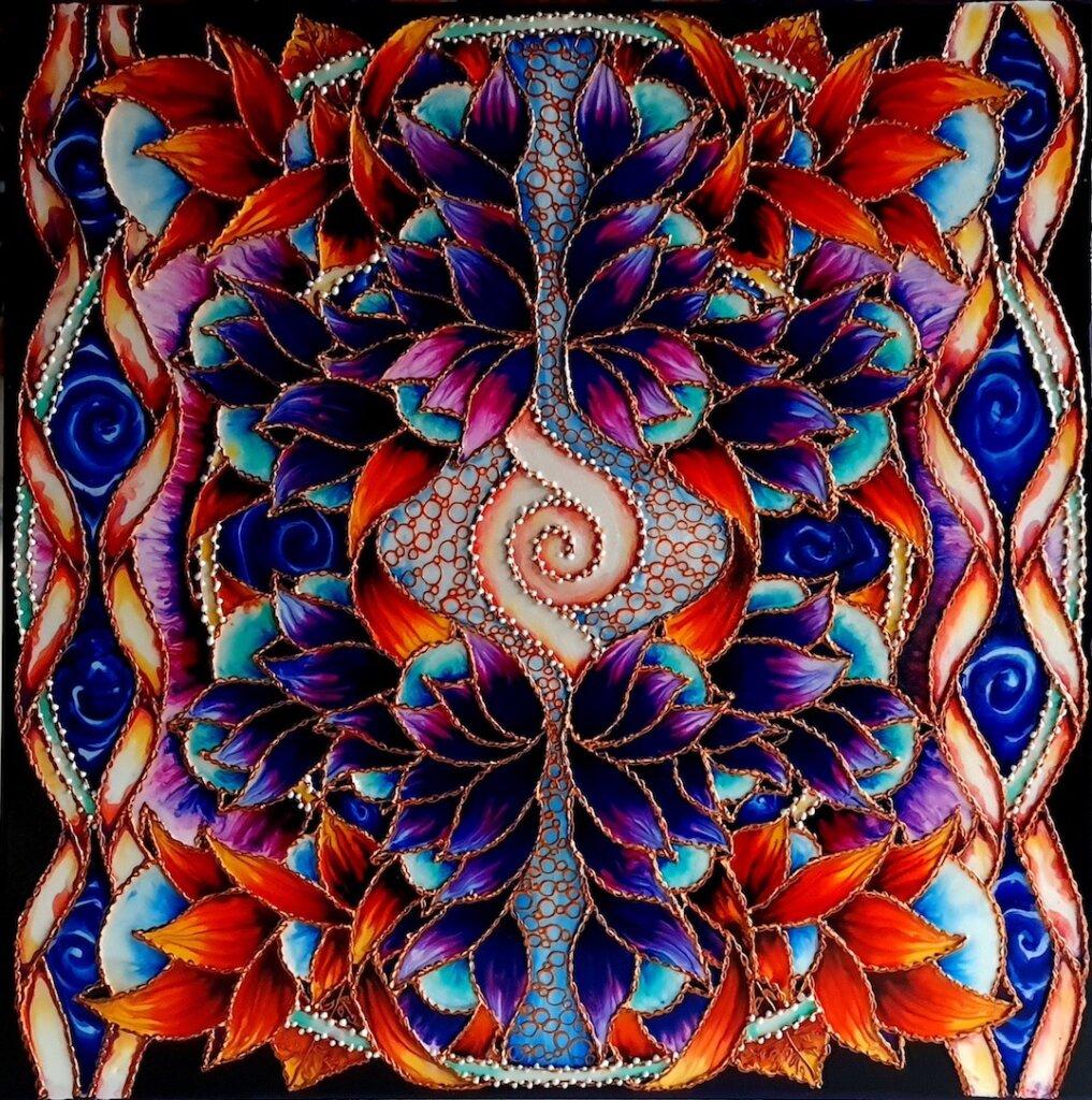 obraz energetyczny, mandala