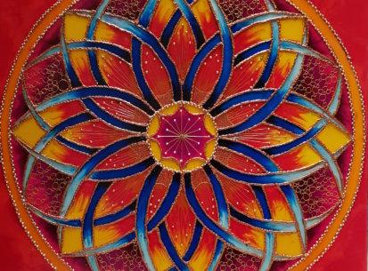 Mandala Sukcesu II – 60×60