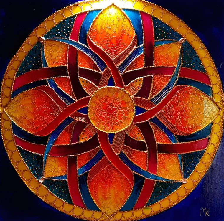 Mandala Sukcesu, obraz energetyczny