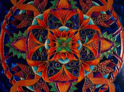Mandala Radości – 60×60