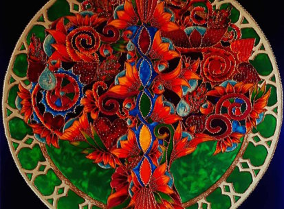 Drzewko Szczęścia I – 100×100
